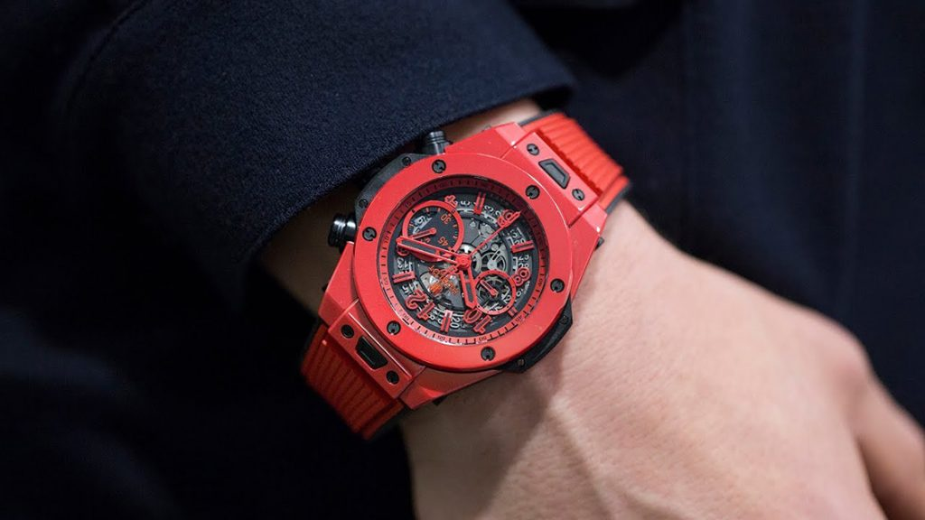 replica hublot Big Bang Unico Red Magic