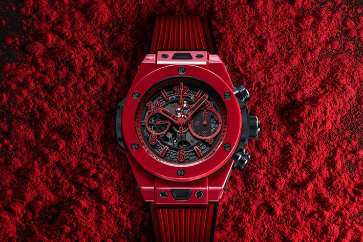 replica hublot Big Bang Unico Red Magic watches