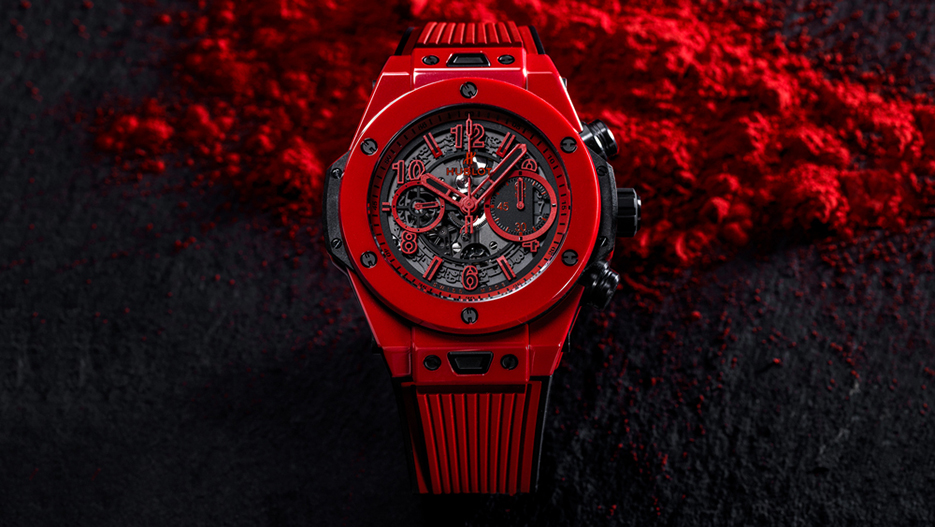 New Vibrantly Colored Ceramic Material: Replica Hublot Big Bang Unico Red Magic