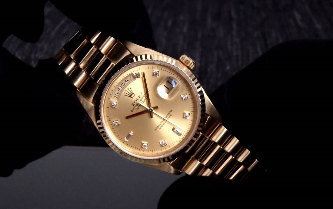 Luxury Replica Rolex Day-Date Watch