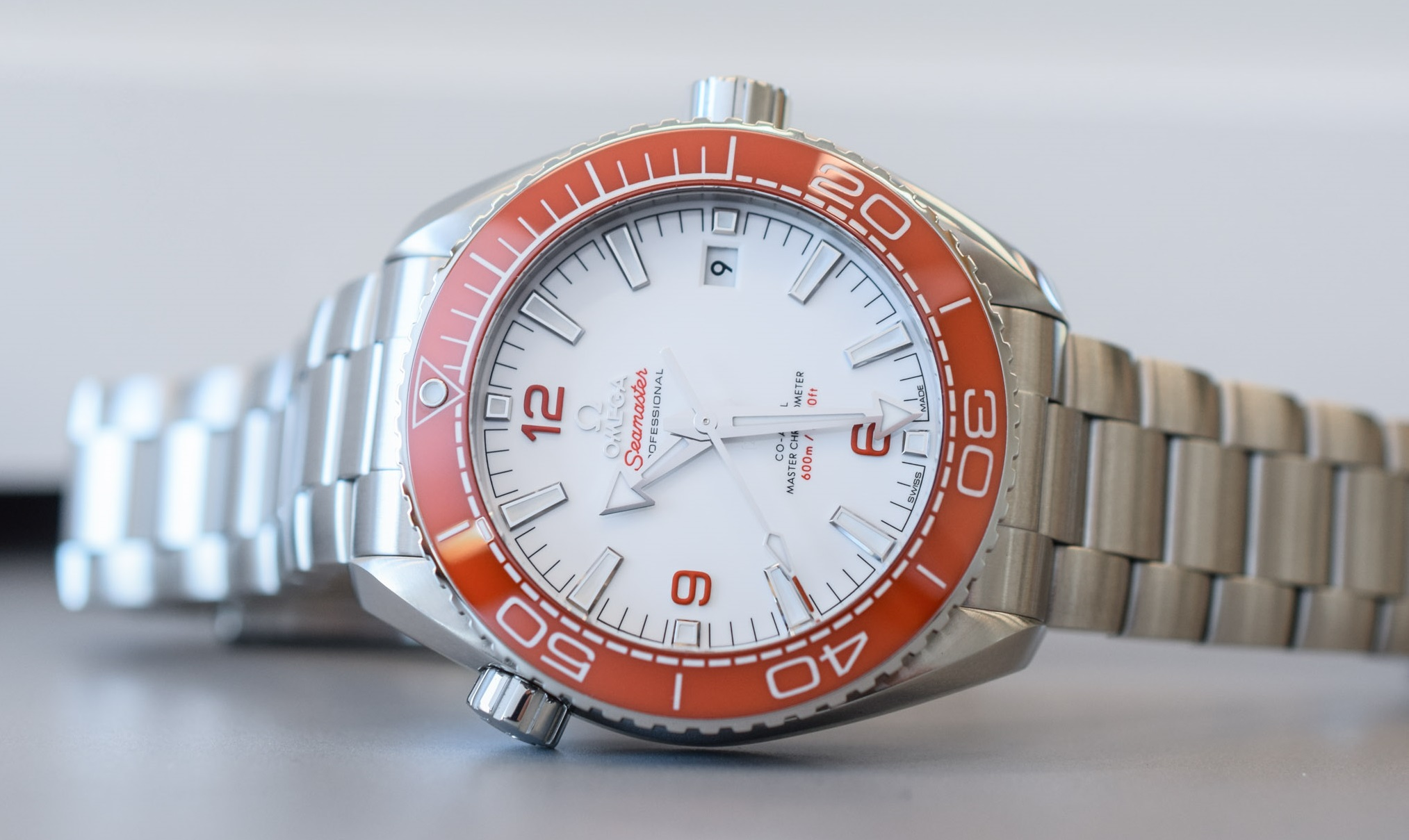 Fake Toy Watch Omega Orange