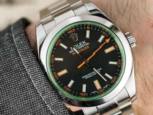 Best Swiss Replica Rolex Milgauss 116400GV