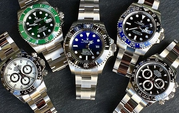 replica Rolex collection watches