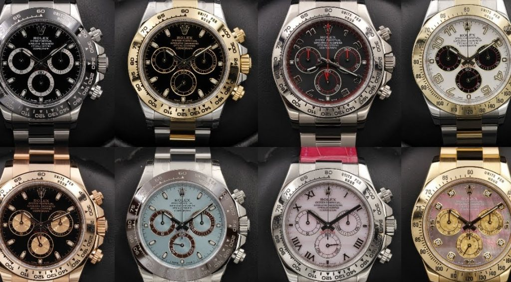 replica Rolex watch Daytona collection