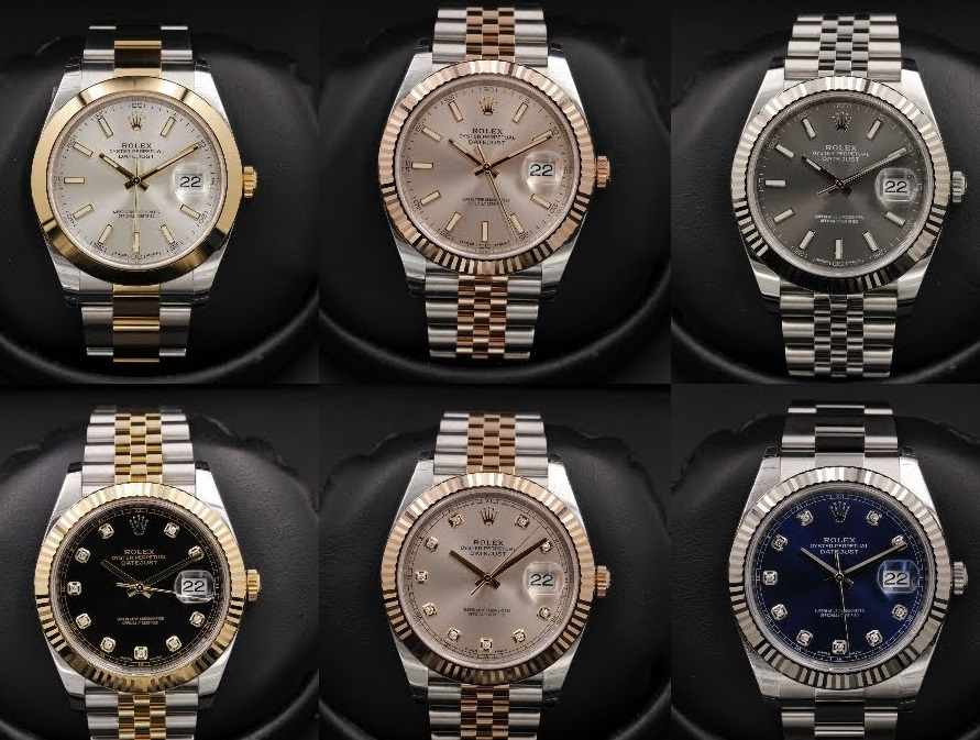 Fake Rolex Datejust 41MM Collection