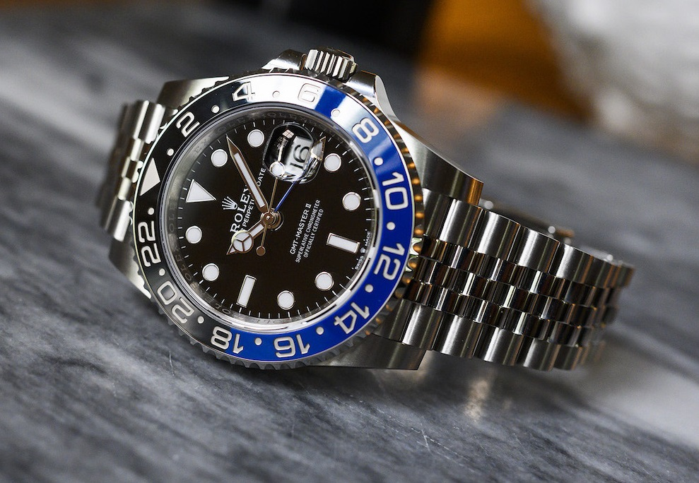 fake Rolex watch GMT-Master II 126710 Batman