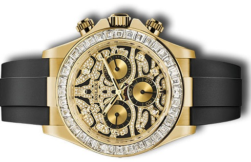 Rolex replica Daytona 116588 TBR diamond watch