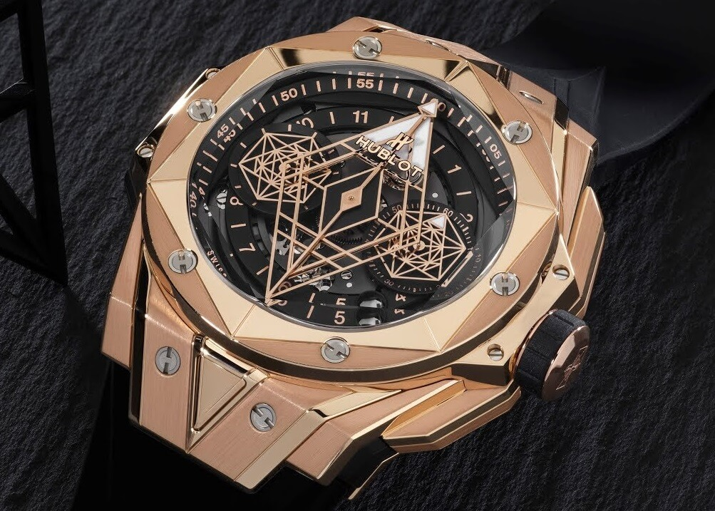 Hublot Big Bang Sang Bleu II 418.OX.1108.RX.MXM19 In King Gold Fake watch
