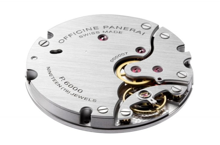 replica Panerai Radiomir Venti PAM2020 movement