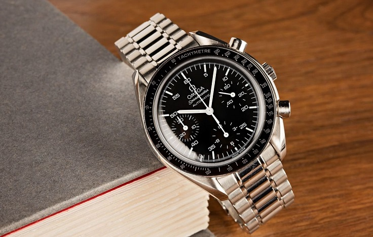 imitation Omega Speedmaster Reduced black dial