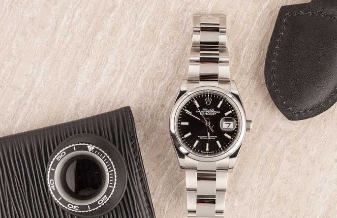 imitation Rolex Datejust 126200 black dial