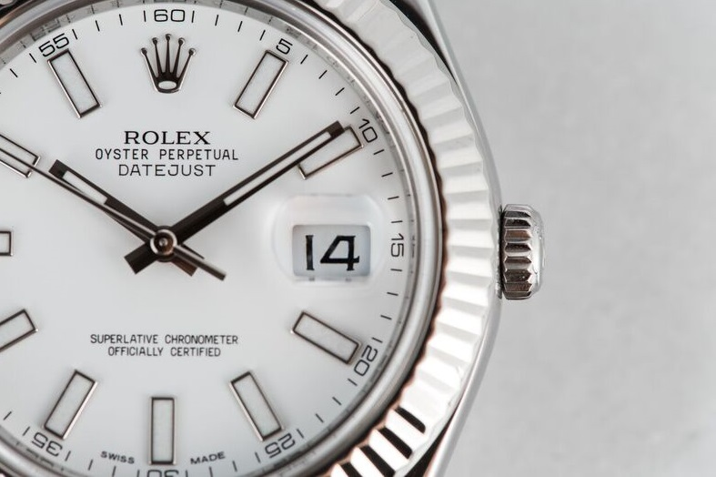 replica Rolex Datejust II 116334 white dial