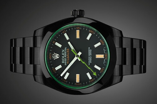 Rolex Milgauss 116400 GV replicas watches